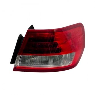 Replace® - Passenger Side Outer Replacement Tail Light Lens and Housing (Remanufactured OE)