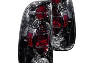 Replace® - Black Euro Tail Lights