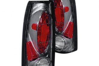 Replace® - Black Tail Lights