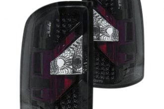 Replace® - Black LED Tail Lights
