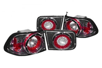 Replace® - Gunmental LED Tail Lights