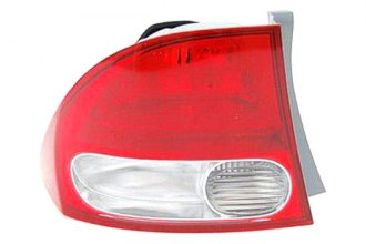 Replace® HO2818138 - Driver Side Outer Replacement Tail Light Lens and Housing