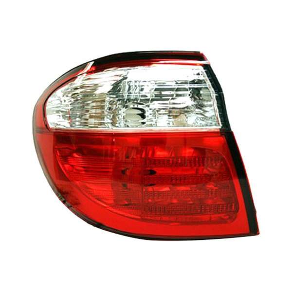 Replace® - Driver Side Outer Replacement Tail Light Lens and Housing