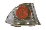 Replace® LX2818104 - Driver Side Outer Replacement Tail Light Lens and Housing (Metallic)