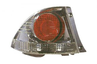 Replace® LX2818104 - Driver Side Outer Replacement Tail Light Lens and Housing