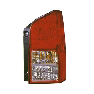 Replace® - Driver Side Replacement Tail Light (Remanufactured OE)