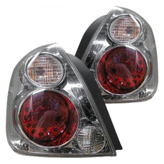 Replace® - Chrome/Red GM-Type LED Tail Lights