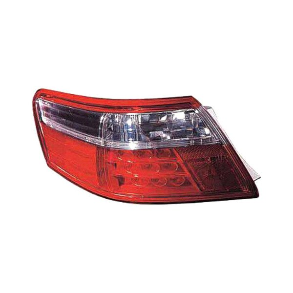 Replace® - Driver Side LED Tail Light Lens and Housing