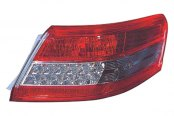 Replace® - Outer Driver Side Replacement Tail Light Lens and Housing