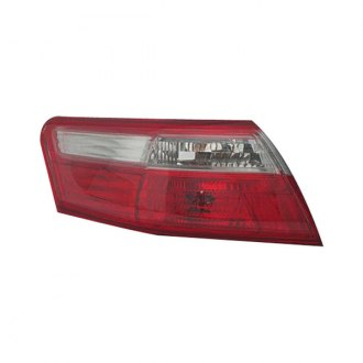 Replace® - Driver Side Outer Replacement Tail Light Lens and Housing (Remanufactured OE)