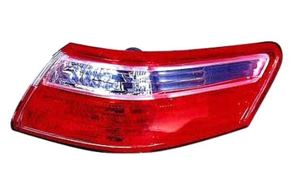 Replace® - Outer Passenger Side Replacement Tail Light Lens and Housing