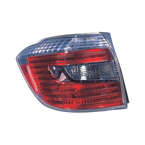 Replace toyota highlander 2008 2010 replacement tail for Garage toyota lens