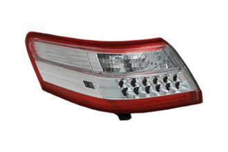 Replace® - Passenger Side Outer Replacement Tail Light Lens and Housing