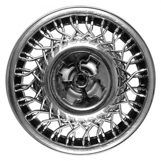 "Replace® - 14"" Remanufactured Wheel Cover With Chrome Chrysler Letters"