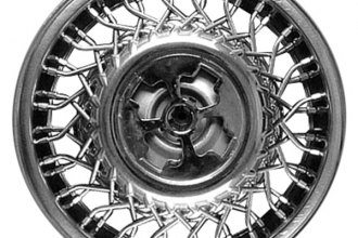 "Replace® - 14"" Remanufactured Wire Design Silver Wheel Cover"