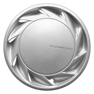 "Replace® - 14"" Remanufactured 10 Fins Chrome Wheel Cover"