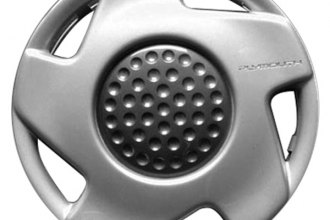 "Replace® - 14"" Remanufactured 5-Slot Silver Wheel Cover"