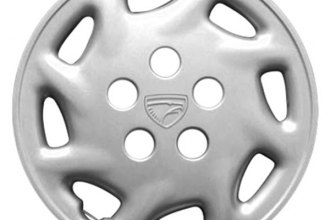 "Replace® - 14"" Remanufactured 8-Spoke Silver Wheel Cover"