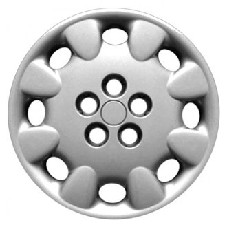 "Replace® - 14"" Remanufactured 8-Slot White Wheel Cover"