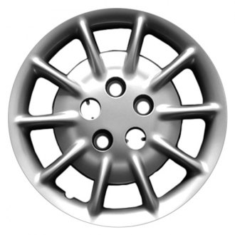 "Replace® - 16"" Remanufactured 10 Spokes Silver Wheel Cover"
