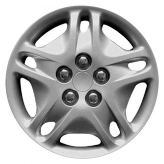 "Replace® - 14"" 5 Double Spokes Silver Wheel Cover"