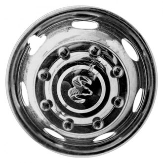 "Replace® - 16"" Remanufactured Front 7 Holes Chrome Wheel Cover"