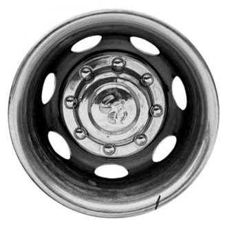 "Replace® - 16"" Remanufactured 7 Holes Silver Wheel Cover"