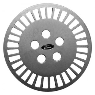 "Replace® - 14"" Remanufactured 32-Slot Silver Wheel Cover"