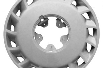 "Replace® - 15"" Remanufactured 15-Slot Silver Wheel Cover"