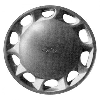 "Replace® - 13"" Remanufactured 10 Holes Silver Wheel Cover"