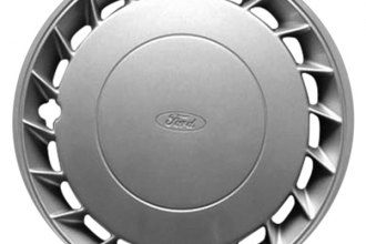"Replace® - 14"" Remanufactured 20-Fin Silver Wheel Cover"