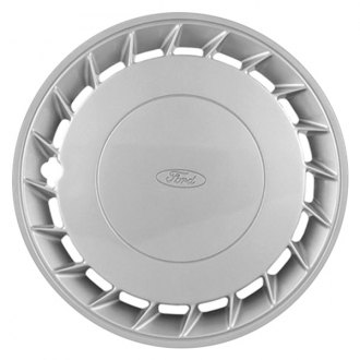 "Replace® - 14"" Remanufactured 20 Fins Silver Wheel Cover"