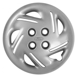 "Replace® - 14"" Remanufactured 10-Slot Chrome Wheel Cover"