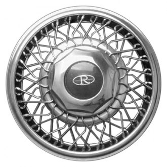 "Replace® - 15"" Remanufactured Stainless with Grey Center Wheel Cover"