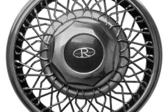 "Replace® - 15"" Remanufactured Wire Design Silver Wheel Cover"
