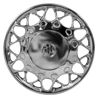 "Replace® - 15"" Remanufactured 24-Hole Silver Wheel Cover"