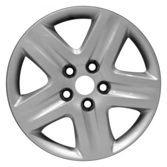 "Replace® - 16"" Remanufactured 5-Spoke Silver Wheel Cover"