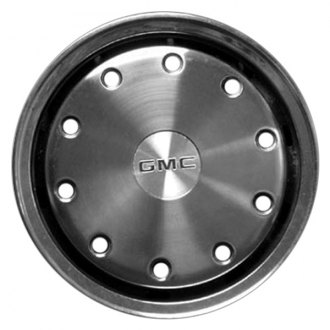 "Replace® - 15"" Remanufactured 10-Hole Silver Wheel Cover"