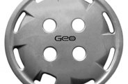 "Replace® - 13"" Remanufactured 8-Hole Silver Wheel Cover"