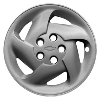 "Replace® - 14"" Remanufactured 5 Slots Silver Wheel Cover"