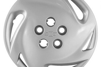 "Replace® - 14"" Remanufactured 6-Slot Silver Wheel Cover"