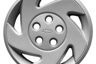 "Replace® - 16"" Remanufactured 5-Slot Silver Wheel Cover"