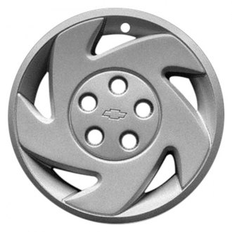 "Replace® - 16"" Remanufactured 5 Slots Chrome Wheel Cover"