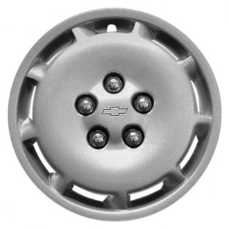 "Replace® - 15"" Remanufactured 9 Slots Silver Wheel Cover"