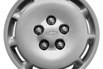 "Replace® - 15"" Remanufactured 9-Slot Silver Wheel Cover"