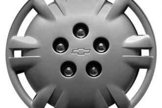 "Replace® - 15"" Remanufactured 12-Slot Silver Wheel Cover"