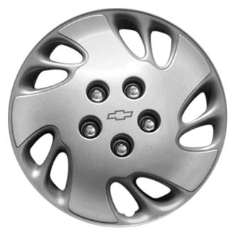 "Replace® - 15"" Remanufactured 10 Holes Silver Wheel Cover"