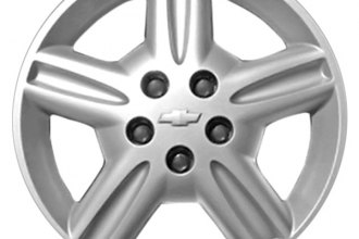 "Replace® - 16"" Remanufactured 7-Spoke Argent Wheel Cover"