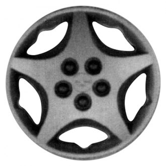 "Replace® - 14"" 5 Spokes Silver Wheel Cover"