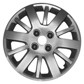 "Replace® - 15"" 12 Spokes Silver Wheel Cover"
